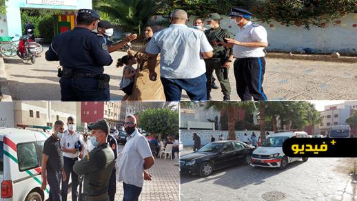 تعزيزات أمنية تطوق عددا من مكاتب التصويت بالناظور