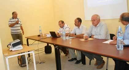 انطلاق أشغال الدورة التكوينية الخاصة بزراعة اشجار الزيتون بجماعة بني سيدال لوطا