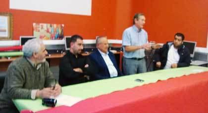 البرلماني محمد أبركان يعقد لقاءا موسعا مع أفراد الجالية بمدينة ريني البلجيكية