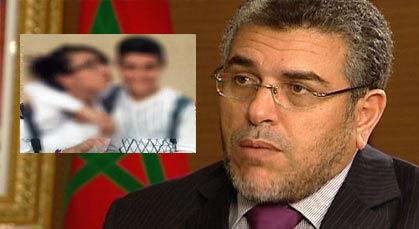 وزير العدل: لم أكن أعلم بقبلة تلميذي الناظور ولا علم لي باعتقالهما