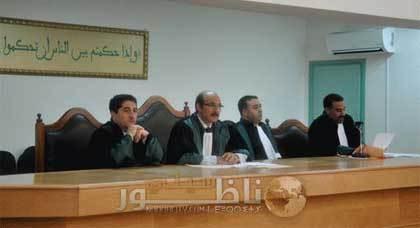 قضاة يودعون رئيس ابتدائية الناظور بالاحتجاج