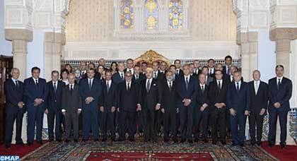 جلالة الملك يعين أعضاء الحكومة الجديدة