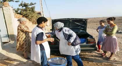 بمناسبة عيد الأضحى المبارك جمعية الأيادي الرحيمة توزّع مساعدات إنسانية على الفئات المعوزة