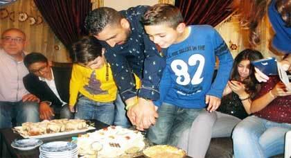 تهنئة بمناسبة عيد ميلاد محمد أمين أخشيو