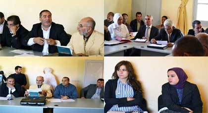 المجلس البلدي لمدينة بني أنصار يعقد دورته العادية لشهر أكتوبر