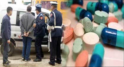 اعتقال صاحب صيدلية بالناظور يشتبه في كونه يبيع أدوية ومواد محظورة من ضمنها القرقوبي