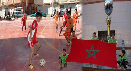 جمعية نهضة شباب كرة القدم تنظم دوري رياضي تخليدا للمسيرة الخضراء
