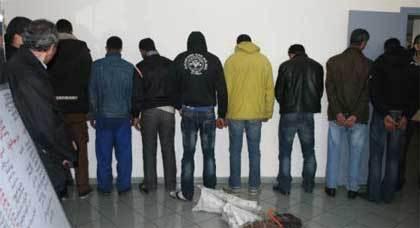 عناصر الشرطة القضائية تعتقل عصابة لصوص ببني أنصار بعد تنامي السرقة بالمدينة