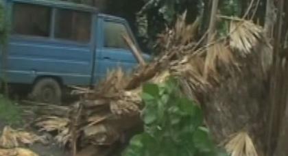 أقوى إعصار تشهده الكرة الأرضية هذا العام يضرب الفلبين بسرعة 380 كلم في الساعة