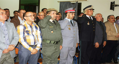 باشا مدينة سلوان يترأس مراسيم الاستماع للخطاب الملكي بمناسبة الذكرى 38 للمسيرة الخضراء المظفرة