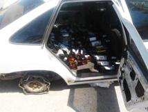 أمن أحفير يحجز 600 قنينة من الخمور المهربة على متن سيارة قادمة من بني انصار