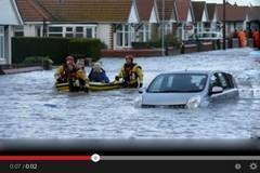 عواصف وفيضانات في أوروبا
