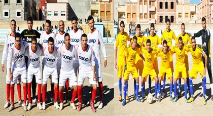 فريق نهضة زايو تفوزعلى فريق النادي الحسيمي بأربعة اهداف مقابل هدف واحد