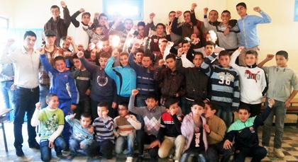 جمعية شباب المستقبل بشراكة مع نيابة التعليم بالناظور تفتتح مركزها التربوي