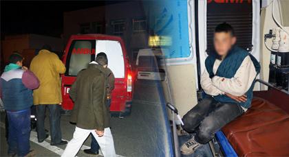 الأمن الإسباني يهشم رأس طفل قاصر لا يتجاوز عمره 14 عاما بمعبر بني أنصار