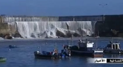 الأمواج تصل 22 متر باسبانيا وانهيارات ثلجية بشرق أوروبا
