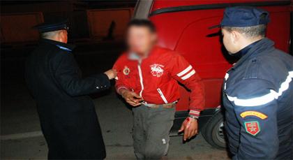 الشرطة تلقي القبض على لص إعتدى على محامي بالناظور بالسلاح الأبيض في محاولة فاشلة للسرقة