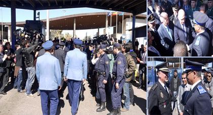وزير الخارجية الإسباني يصل إلى بني أنصار ويعقد إتفاقية عمل لإصلاح الحدود