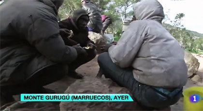 بالفيديو.. المهاجرون الأفارقة في انتظار الانقضاض على سياج مدينتي سبتة ومليلية