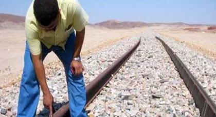 قبل أن يتسبب في كارثة: الدرك الملكي بسلوان يعتقل سارق أسلاك نحاسية من سكة القطار