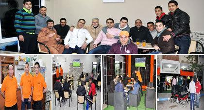 """إفتتاح مقهى """"أيمن"""" بالناظور بتجهيزات حديثة وجودة في الخدمات"""