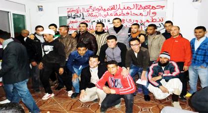 تنظيم دوري في كرة القدم لجمعية المنار للتنمية والأعمال الاجتماعية على البيئة بدوار الكماش ببوعرك