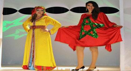 بالفيديو.. عرض أزياء بالناظور في معرض القفطان المغربي