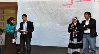 النادي الثقافي لثانوية حسان بن ثابت التأهيلية يتألق في أمسيته الثانية