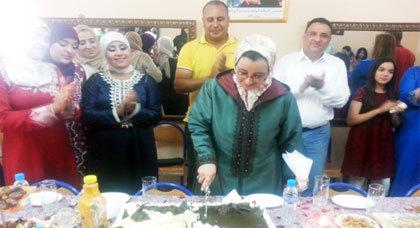 """حفل تكريم لرائدات النادي النسوي """"لعري الشيخ"""" بمناسبة مشاركتهن في البطولة الوطنية للحلاقة"""