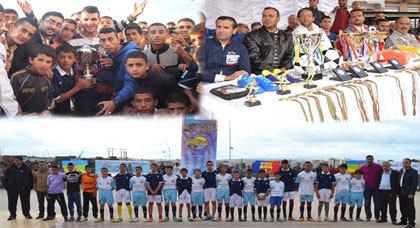 اختتام فعاليات دوري الشريف محمد أمزيان لكرة القدم المصغرة ببني أنصار