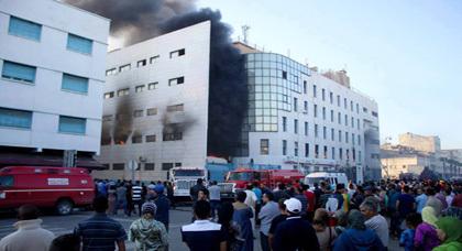 بيان تضامني لتنسيقية الوحدة والتضامن مع متضرري حريق سوبير مارشي