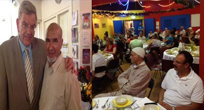 جمعية تامونت بأوتريخت تجمع المسلمين والمسيحيين في حفل إفطار رمضاني بهيج