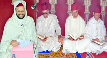 عامل إقليم الدريوش يترأس بالمسجد الأعظم حفلاُ دينياً إحياء لليلة القدر المُباركة
