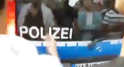 الشرطة الألمانية تشارك في مظاهرات داعمة لغزة