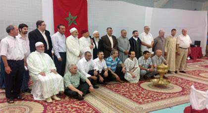 حفل تكريمي للأئمة والمرشدين الوافدين من المملكة المغربية بمسجد بدر بمدينة فسبادن