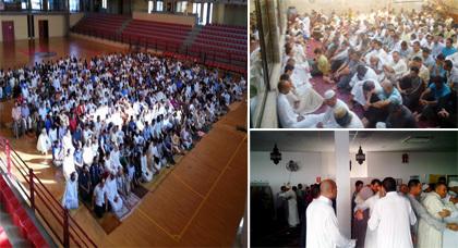 الجالية المغربية والمسلمة بجزيرة مايوركا تحتفل بأول أيام عيد الفطر المبارك