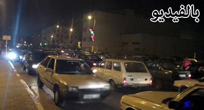 فوضى بمعبر بني أنصار: أكثر من 800 سيارة تجتاز المعبر ليلا ورجال الأمن يشتغلون ساعات إضافية