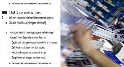 هل جميع الشبان المغاربة مجرمون؟.. سؤال في كتاب مدرسي  بهولندا