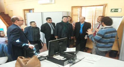 وفد من  بلدية أجدير يشارك  في الأيام الدراسية لتعزيز وتوسيع شبكة الشركات التدريبية بكاطالونيا