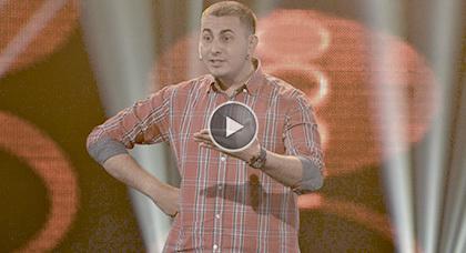 الكوميدي علاء بن حدُّو ضيف القناة الأمازيغية