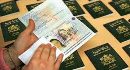 إعتقال شخصيين حاولا الهجرة بوثائق مزورة ببني أنصار