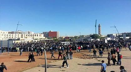تجدد المواجهات الطلابية بجامعة محمد الأول بوجدة
