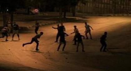 """إستمرار المواجهات بين """"القاعديين"""" و""""الأمازيغ"""" بجامعة وجدة تسفر عن ليلة صاخبة"""