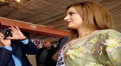 الريفية ملكة جمال المغرب لناظورسيتي لن أتعر ى وأرتدي البيكيني في مسابقة جمال الكون