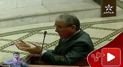 الوزير ابن الناظور الحسين الوردي يعلن الحرب على بويا عمار