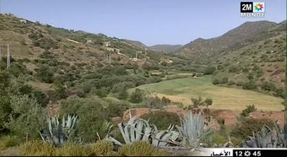 قرية إفرني الرابطة بين جبال الريف.. جمال طبيعي يأسر الأنظار