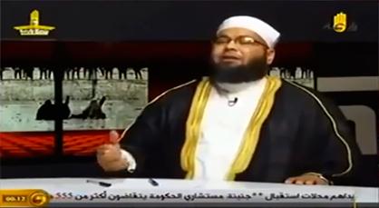 شاهدوا رجل دين مصري كيف يتحدث عن أهل الناظور والحسيمة والريف عامة عبر قناة فضائية