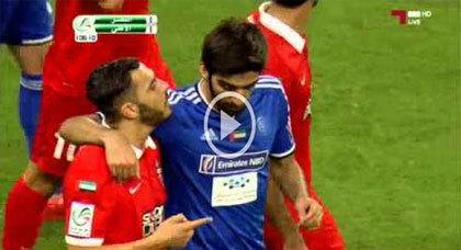 اللاعب الدولي الناظوري أسامة السعيدي يتعرض للإعتداء والحكرة