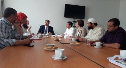 لقاء تواصلي  لتجمع مسلمي بلجيكا إستعدادا لإستقبال شهر رمضان الكريم