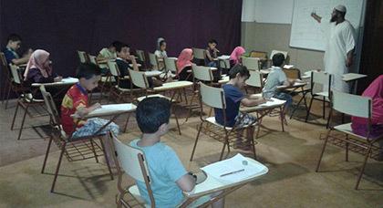 أجواء إمتحانات نهاية الموسم الدراسي بمركز السنة بإسبانيا